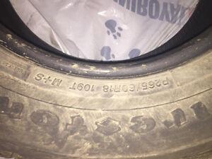 Firestone Winter Tires P265/60R18
