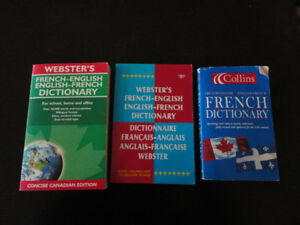 Lot of French-English Dictionary Paperback