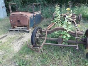 For Sale .   Model A Ford Chassis and body