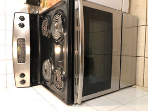 GE appliance Range Stove Cook Top in great shape