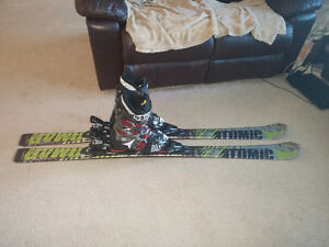 Skis, Bindings and Boots (Atomic)