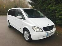 58 REG MERCEDES VIANO 3.5 V6 PETROL AUTOMATIC AMBIENTE COMPACT 7 SEATER