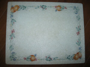 20 X 16 Corelle Abundance Glass Cutting Board or Trivet