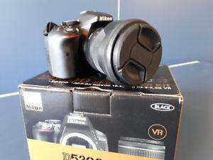 Nikon d5300 + Sigma 17-70mm C f2.8-4 + Accessories
