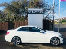 2014 Mercedes-Benz ( 168bhp ) BlueTec C220 CDI AMG Line(ONE OWNER,HISTORY)
