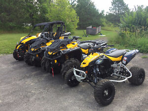 Lightly Used 2015 Can-Am DS 450 X MX