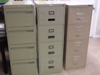 Filing cabinets. $50 each or best offer