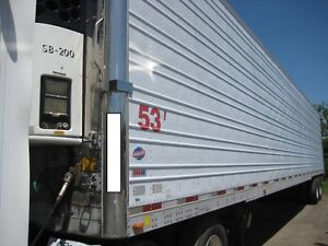 Utility reefer (2004) with Thermo King unit