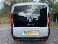 2017 Fiat Doblo 1.4 16V Pop 5dr 3 SEATS PLUS WHEELCHAIR PASSENGER OR SCOOTER Whe