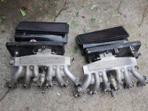 Jaguar V12 5.3/6.0 liter intake manifolds, throttle, air filters
