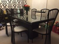 Dining Set with Cabinet