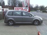 2008 08 Reg Volkswagen Touran 1.9TDI 105PS 7st SE DIESEL 7 SEATER F/S/H