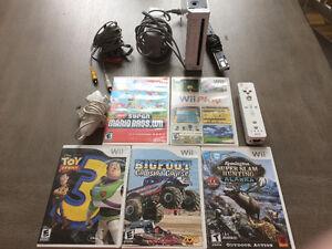 Wii Avec 5 cassettes à vendre