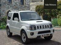 2013 Suzuki Jimny 1.3 VVT SZ4 Auto 4WD 3dr EU5 Automatic SUV Petrol Automatic