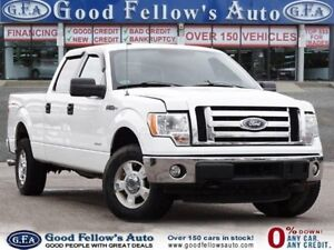 2014 Ford F-150 XLT MODEL, 6CYL, 3.5 L ECOBOOST, SUPER CREW, 4*4