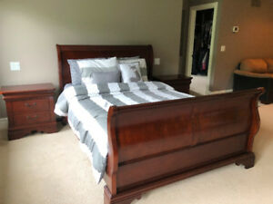 Bedroom set and couch