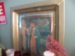 Vintage Double Image Religious Pictures