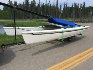 Hobie 17 Sailboat with wings for sale