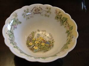 Beautiful 4 seasons bowls - Royal Doulton West Island Greater Montréal image 3