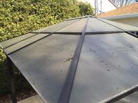 Réparation de toit de gazebo