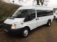 FORD TRANSIT 430 135BHP 16 SEAT MINI BUS 63 REG