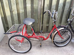Adult Trike / Bicycle - Two Available