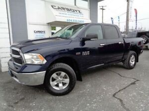 2013 Dodge Ram 1500 SLT Luxury, Crew 4x4, Nav, Rear Camera, BC T