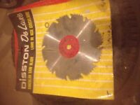 """New 8"""" combination saw blade"""