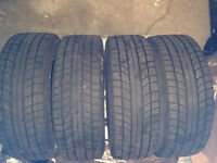 pnue de hiver /winter tires 195/65/15r honda civic