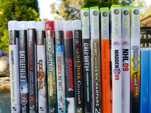 Ps3 and xbox360 games