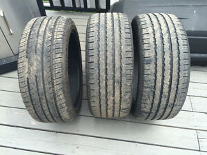 3 used tires 235 45R 18