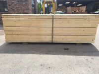 Wooden/ Timber Unbanded/ Banded Scaffold Boards • Joists/ Decking/ Diy etc 36mm X 225mm X 3.9m