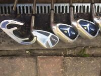Jack Nicklaus irons and putter