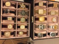 Watch Collections bought Inc Rolex Omega Breitling Jaeger Cartier Tudor Running of not