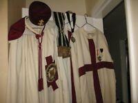 Knights Templar Masonic Regalia