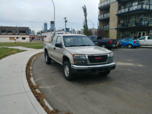 2007 GMC Canyon 4x4 and 5-speed Manual