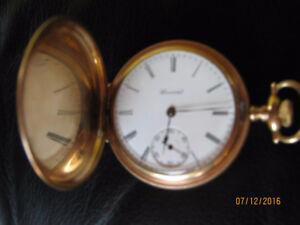 E. HOWARD Pocket Watch (Gold Fill), Late 1800 (Original Box)