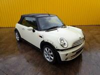 2008 BMW MINI COOPER 1.6 PETROL 5 SPD MAN