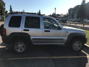 2002 Jeep Liberty Sport NEGOTIABLE | 190,000 KM | WINTER TIRES