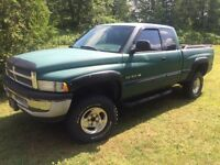 1998 dodge and parts truck