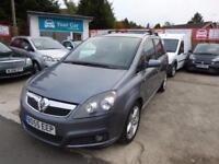 Vauxhall/Opel Zafira 2.2i 16v Direct 2005 SRi