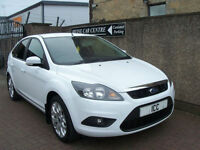"09 59 REG FORD FOCUS 1.6 ZETEC SPORT 16V 5DR BLUETOOTH 17"" ALLOYS PRIVACY A/C"