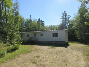 NEW PRICE! Mini home on over 1 acre in Neguac