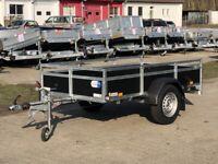 Anhänger Saris Wood BMG135 1350 kg 255x133x45 cm Reling NEU Brandenburg - Schöneiche bei Berlin Vorschau