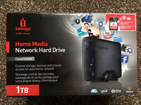 Iomega Home Media Network Wireless 1TB Hard Drive
