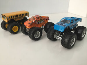 Hotwheels monster jam trucks