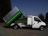 2008 58 LDV MAXUS 3.5T 120PS LWB HIGH SIDE SIDED ARBORIST DROPSIDE TIPPER