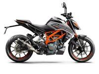 2021 KTM 125 Duke
