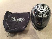 Men's Shoei Motorcycle Helmet
