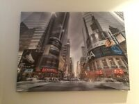 2 X large canvas